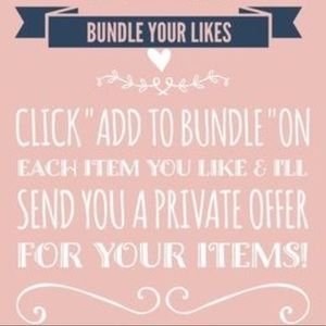 Other - 🌸 BUNDLE YOUR ITEMS FOR BIG SAVINGS 🌸